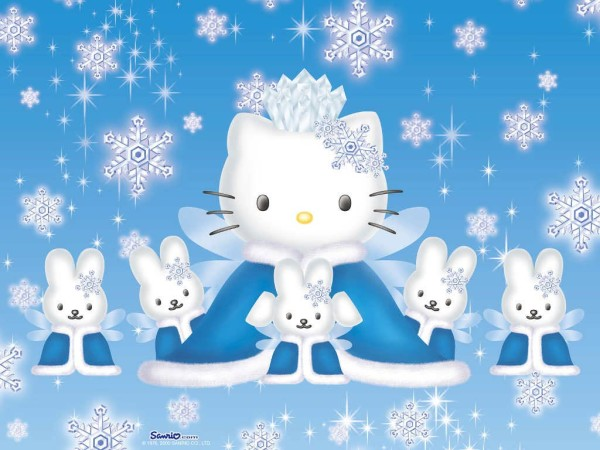 Cute Hello Kitty wallpaper