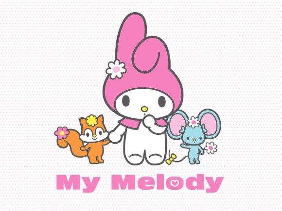 My Melody, Rory And Mory Wallpaper