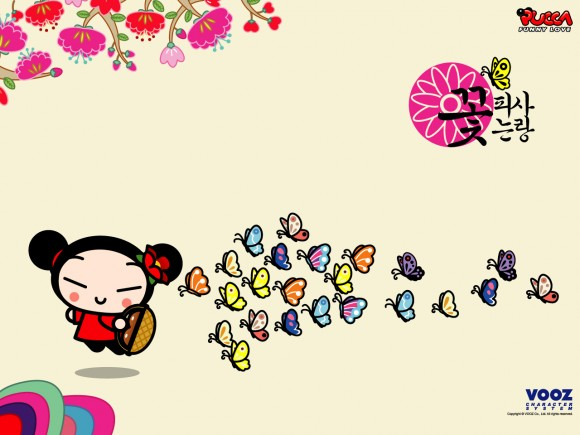 Pucca Desktop Wallpaper