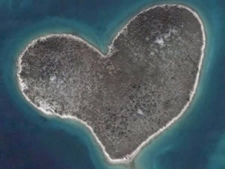 Google Earth for Valentine's Day