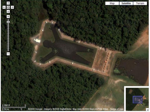 50 Most Funny Google Earth Pictures of All Time