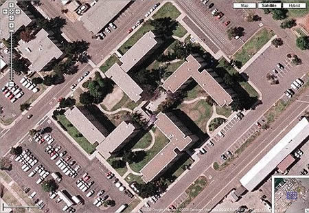 This is a US Navy building in Coronado, Ca.