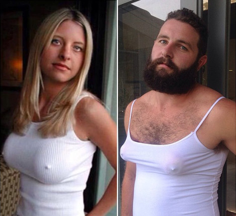 Australian Jarrod Allen is recreating profile pictures of girls he comes across on Tinder App