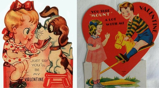 Funny Valentine Day Cards From History (25 Photos)