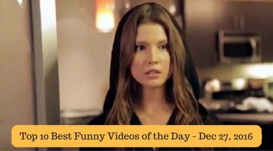Top 10 Best Funny Videos of the Day – Dec 27, 2016
