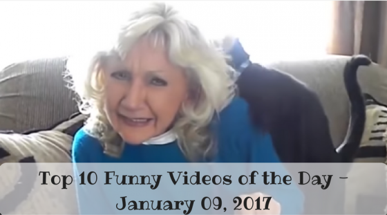 Top 10 Funny Videos of the Day – January 09, 2017