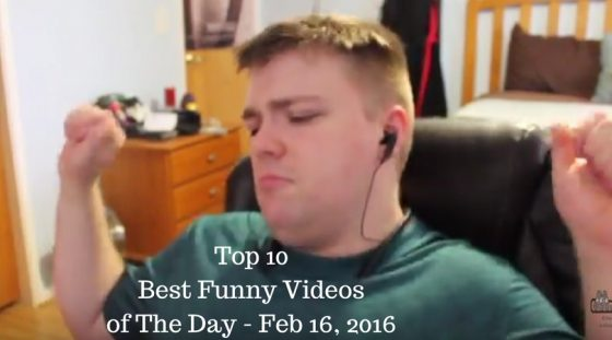 Top 10 Best Funny Videos of The Day – Feb 16, 2016